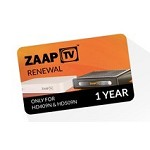 1 Year renewal For  $99 Zaaptv & Android